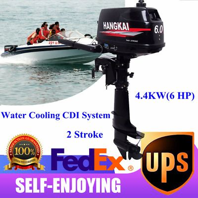 Ad Ebay Url 2 Stroke 6hp Outboard Boat Motor Fishing Boat Engine Water Cooling Cdi System Us