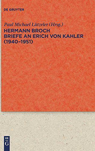 Briefe An Erich Von Kahler 1940 1951 Quellen Und Forschungen Zur Literatur Und Kulturgeschichte Band 65 Quellen Kahler With Images Book Logo Books Movie Posters