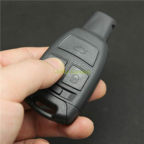 Car 2 Boutons Télécommande clé Fob Case Shell Uncut Blade for Suzuki Opel Agila