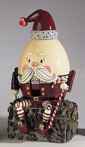 Nutcracker Sweet Collection Humpty Dumpty Nanette Hilton Kurt Adler Christmas #finishcarpentry