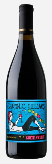 Chronic Cellars wine packaging PD