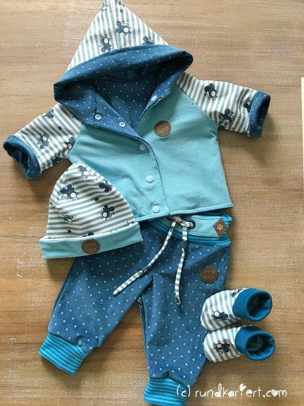 wendejacke baby klimperklein