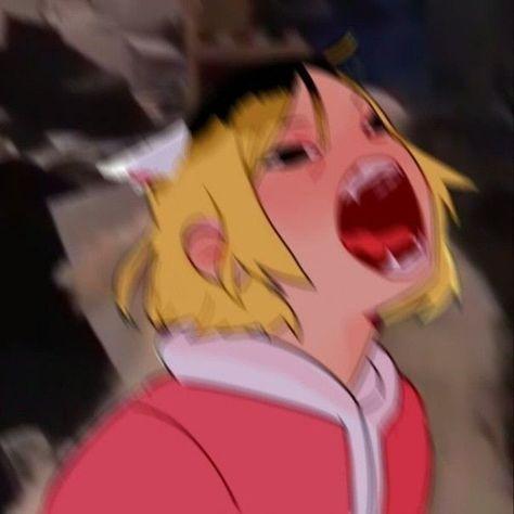 Anime Meme, Funny Anime Pics, Manga Anime, Anime Art, Kenma Kozume, Kuroken, Haikyuu Funny, Haikyuu Fanart, Hiro Big Hero 6