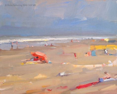 Roos Schuring New paintings- Seascapes and landscapes plein air