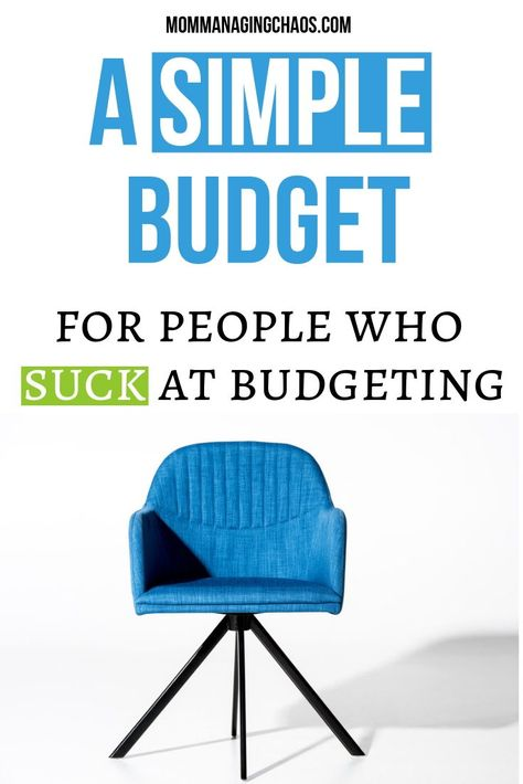 The 6 Budget Categories Budget | For People Who Suck at Budgeting