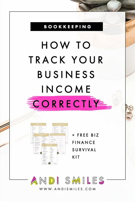 How to Track Your Business Income Correctly
