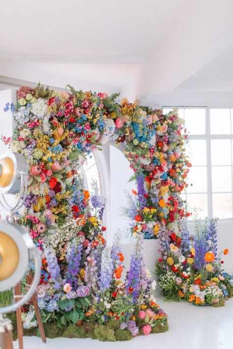 A Room With A VIEW Floral Arch created by Veevers Carter. Image Courtesy of Holly Clark Photography. Floral Wedding, Wedding Colors, Wedding Flowers, Wedding Stage, Dream Wedding, Star Wedding, Stage Decorations, Wedding Decorations, Floral Arch