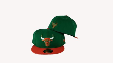 "98d4b424023c5 Matching New Era Chicago Bulls Snapback Hat For Jordan 6 Gatorade "" Like  Mike "" Green   Orange"