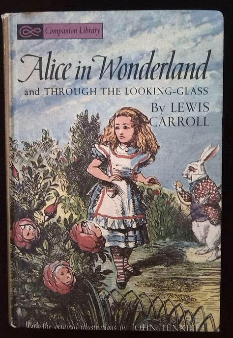 Alice Through The Looking Glass Illustrations Antique Alice In
