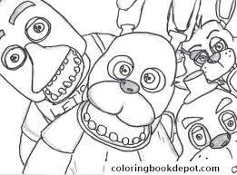 Resultado De Imagem Para Five Nights At Freddy S Colouring
