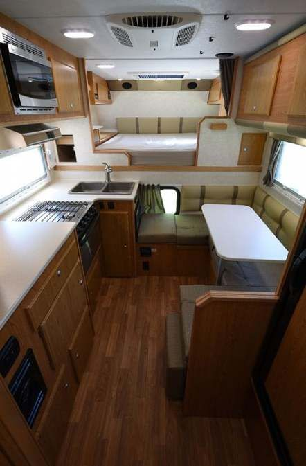 51 Ideas For Truck Camper Storage Tiny House House Storage