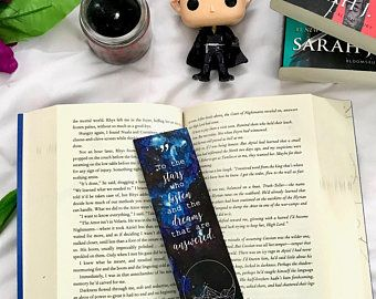A Court Of Thrones And Roses Bookmark Acotar Acomaf Acowar