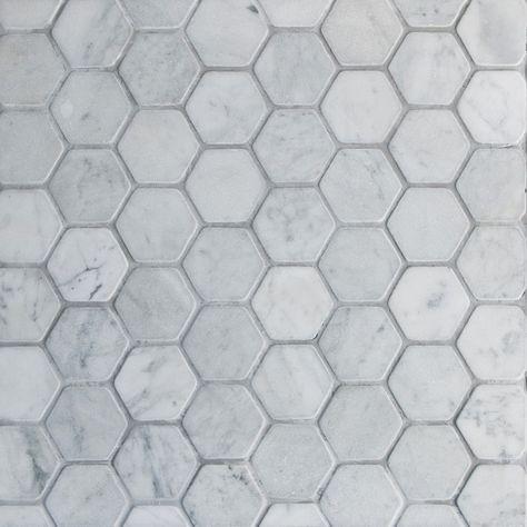 Gl Stone Tile Hexagon Pattern Natural