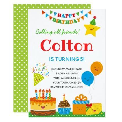 Boys birthday invitation birthday cards invitations party diy boys birthday invitation birthday cards invitations party diy personalize customize celebration bookmarktalkfo Image collections