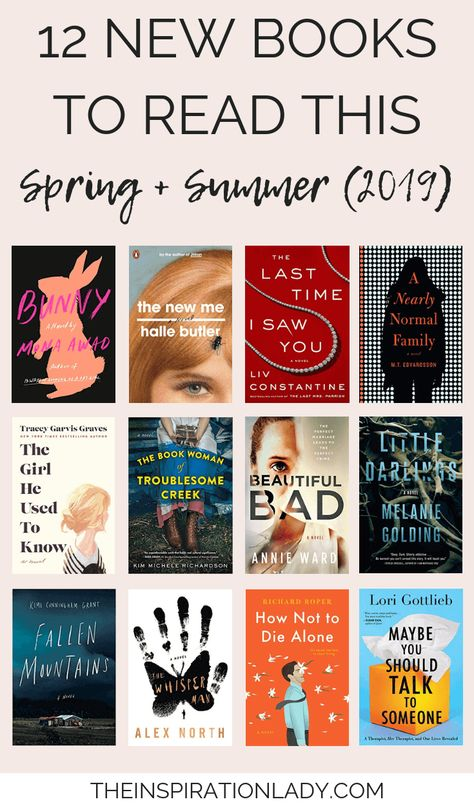 12 New Books to Read This Spring + Summer (2019) - The Inspiration Lady