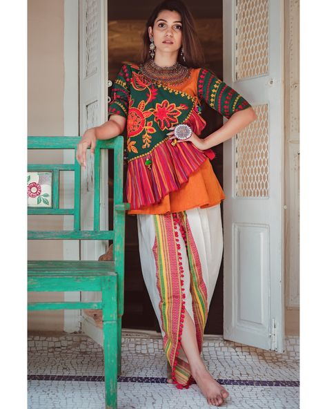 New Chaniya Choli & Blouse Designs for Navratri 2019 - LooksGud.