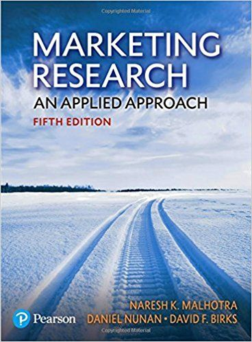 Marketing Research An Applied Approach 5th Edition Ebook Book Marketing Ebook Marketing