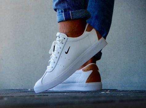 acheter chaussure Nike Match Classic Suede PRM Brogue White