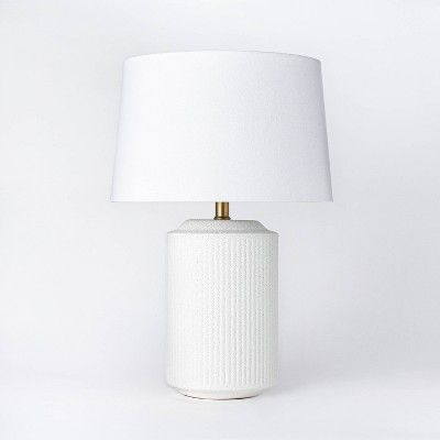 Ceramic Assembled Table Lamp White Threshold Designed With Studio Mcgee In 2020 White Table Lamp Table Lamp Lamp
