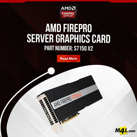 AMD FirePro S7150 x2 Server Graphics Card
