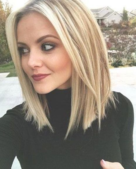 50 Medium Shoulder Length Hairstyles For Women With Female Hair Loss Baldness On Crown Of Head Lob Haircut Bobs For Thin Hair Long Bob Hairstyles