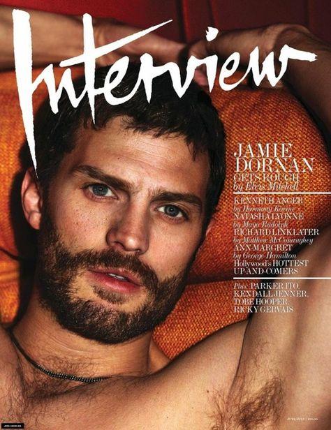 Jamie Dornan in the June issue of Interview magazine