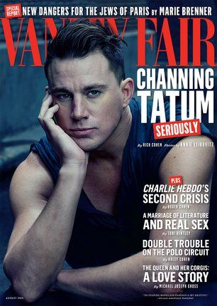 Watch Cover Shoots | Channing Tatum Playing with Puppies