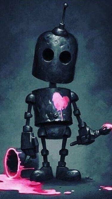 Robot 9 16 Arte Robot Robots Dibujo Ilustración De Robot
