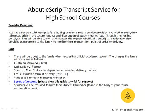 For more information about the Admissions process go to    www - transcript request form