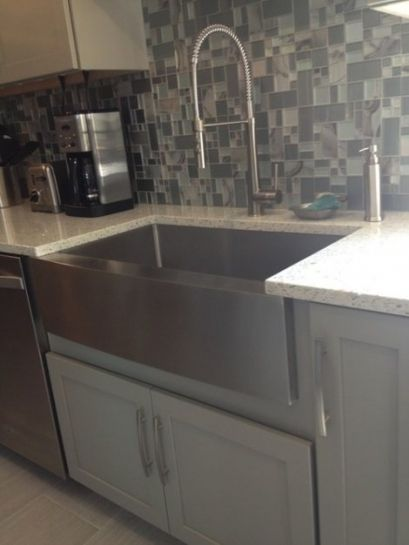 Giagni Fresco Stainless Steel 1-Handle Pull-Down Kitchen ...