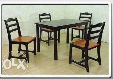Venzo 4 Seater Dining Set Furniture PROMO For Sale Philippines