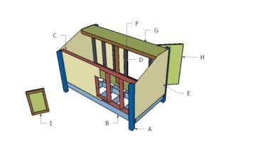 4x6 Shooting House Plans Howtospecialist How To Build Step By Step Diy Plans Duck Blind Plans Shooting House Duck Blind