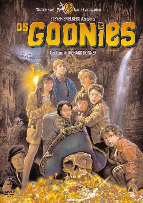 THE GOONIES MOVIE POSTER 49311 24x36 TREASURE CLASSIC
