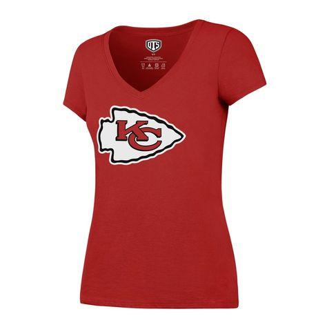 NFL Womens OTS Rival V-neck Tee