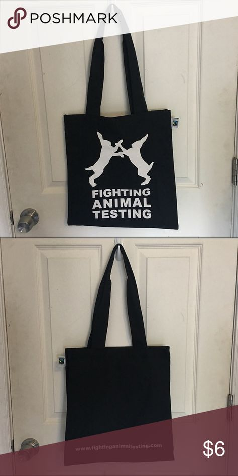 97d912225e LUSH Fighting Animal Testing Canvas Bag LUSH Fighting Animal Testing Canvas  Bag. only used twice. no stains or blemishes