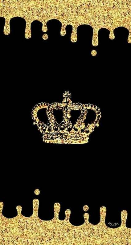 Wall Paper Celular Preto E Dourado 67 Ideas Gold Wallpaper Iphone Android Wallpaper Black Queen Wallpaper Crown