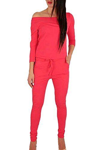 find Marke Jogginghose Damen Jersey mit schmal zulaufendem Bein