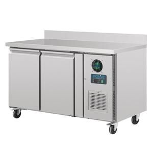 Polar 282l Counter 2 Door Freezer With Upstand Ice Group Hospitalitywarehouse Commercial Catering Equipment Catering Equipment Freezer