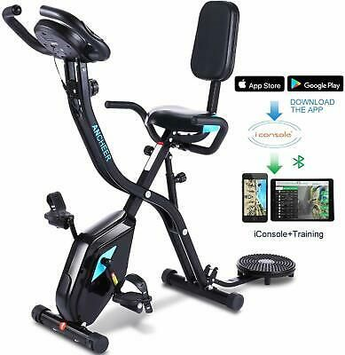 Details About Folding Exercise Bike 3 In 1 Cycle Indoor Stationary