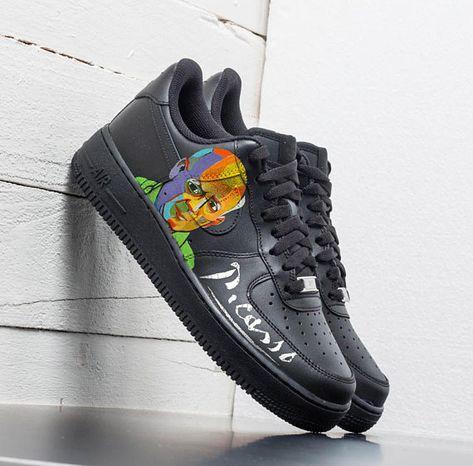 Custom Nike Air Force one, Picasso,custom sneakers , custom