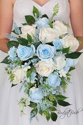 Pin On Blue Wedding Flowers