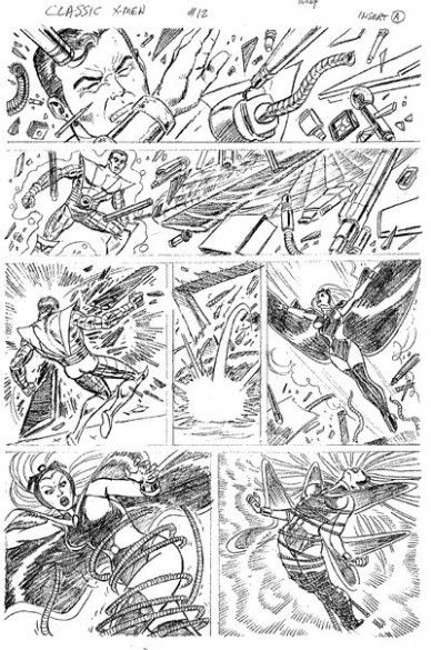 90 Best Images About Dave Cockrum On Pinterest Comic X Men Nightcrawler Coloring Pages