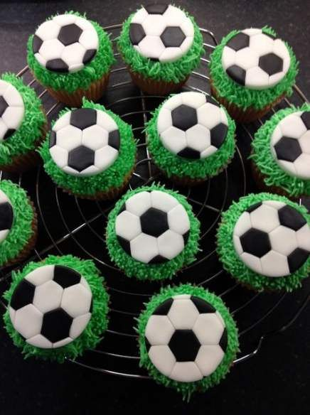Basket Ball Cake Topper Football 68 Super Ideas Football Cupcakes Soccer Cupcakes Football Birthday Cake