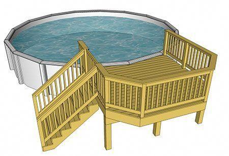 Decks Com Free Plans Pool Decks Porch Decks Low Elevation Decks Medium Elevation Decks Hig Above Ground Pool Decks Decks Around Pools Swimming Pool Decks
