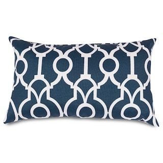 Majestic Home Goods Athens Indoor Outdoor Oblong Throw Pillow Oblong Throw Pillow Throw Pillows Decorative Throw Pillows
