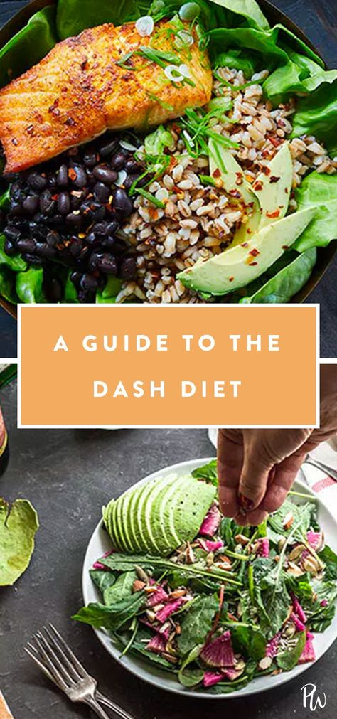 What Is the DASH Diet (and Should You Try It)? #dashdiet #diet #healthyeating