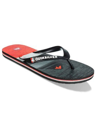 Molokai, Tongs Homme, Multicolore (Snow White/Black), 39 EUQuiksilver