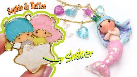 Pink fairy name holder plate fairy decoration fimo magic wand