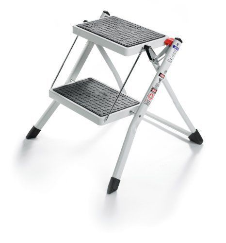 Superb 2 Step Mini Stool Ladder Lightweight Folding Carrying Handle Pabps2019 Chair Design Images Pabps2019Com