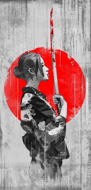 Wallpaper Iphone X Wallpaper Hd Wallpaper Iphone Tumblr Samurai Artwork Samurai Wallpaper Samurai Art